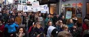 Therapeuten-Demonstration in Kiel macht auf Probleme der Branche aufmerksam
