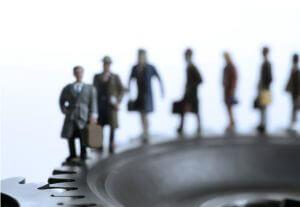 Symbolbild Routine Bürokratie
