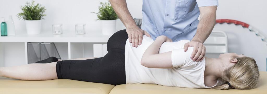 Diagnose durch Chiropraktiker/Physiotherapeuten