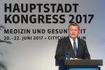 Bundesgesundheitsminister Hermann Gröhe auf dem Hauptstadtkongress 2017