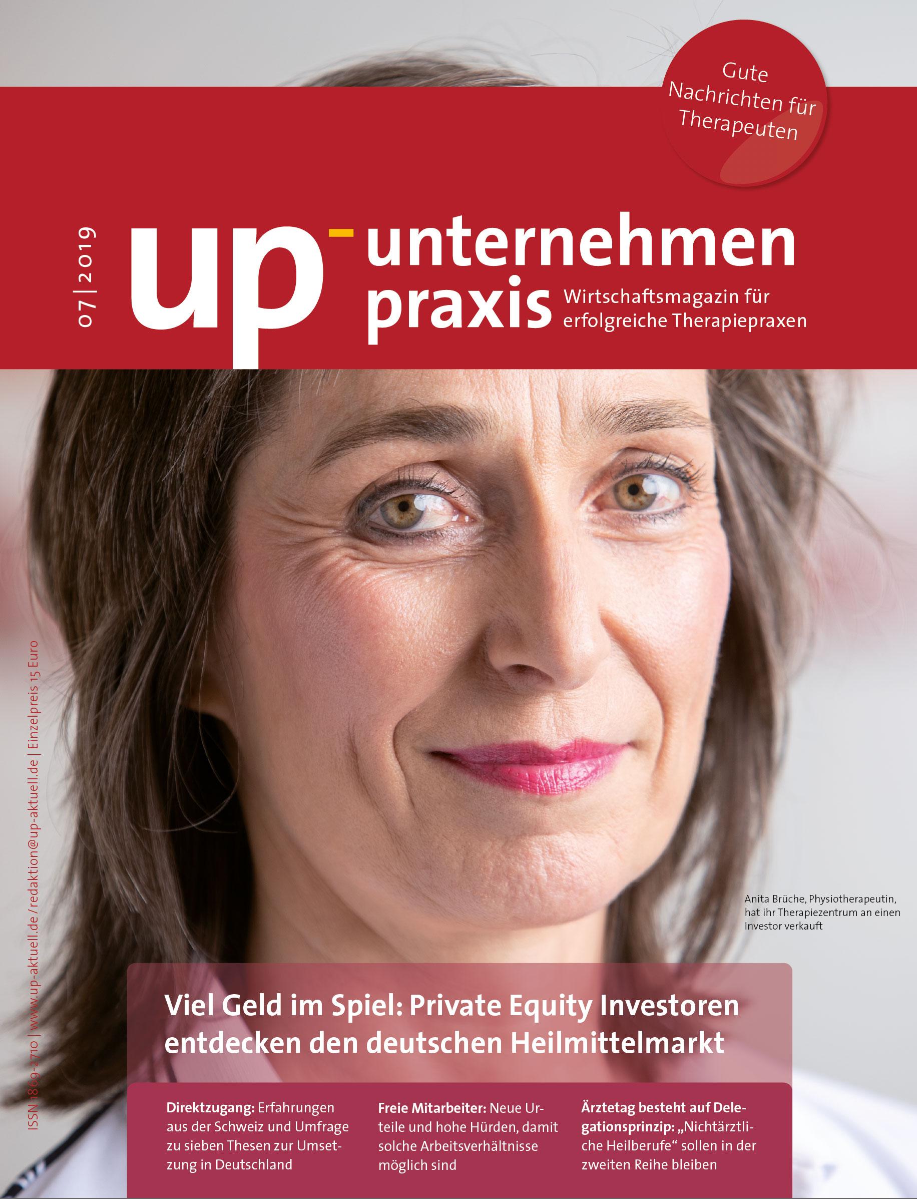 Ausgabe 7/2019 Viel Geld im Spiel: Investoren entdecken den deutschen Heilmittelmarkt