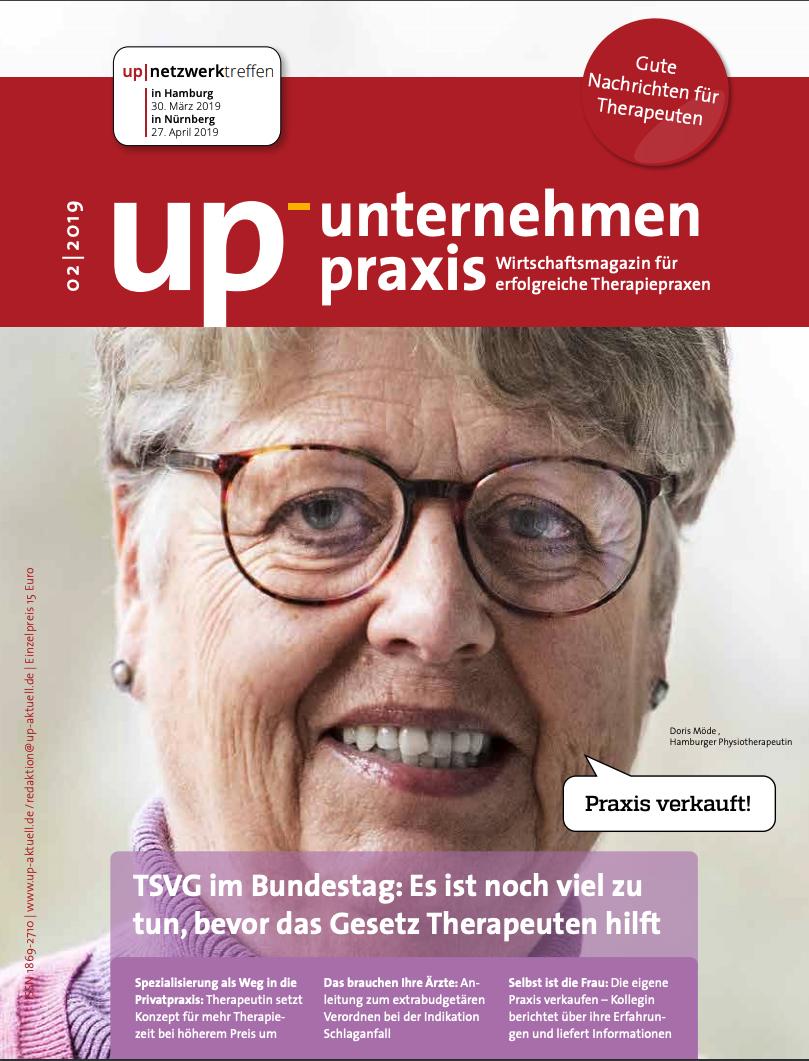 Ausgabe 2/2019 TSVG im Bundestag: Es ist noch viel zu tun, bevor das Gesetz Therapeuten hilft
