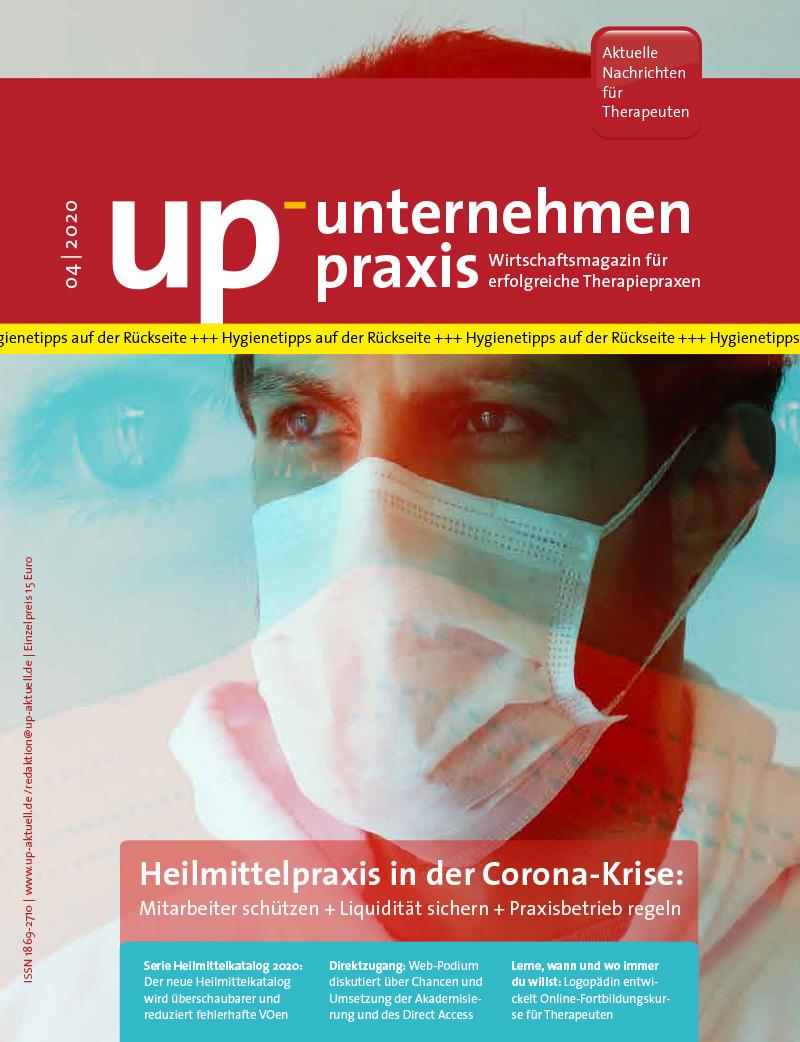 Ausgabe 04/2020 – Heilmittelpraxis in der Corona-Krise