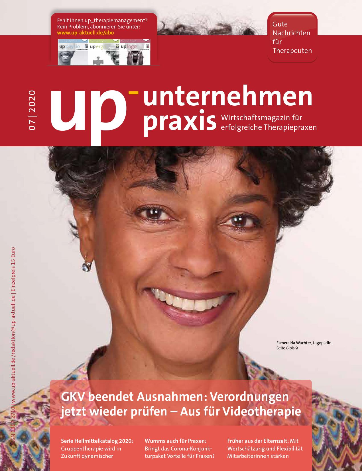 Ausgabe 07/2020 – GKV beendet Ausnahmen / Rassismus